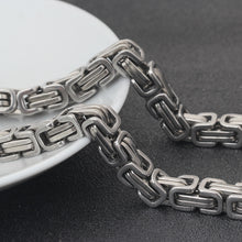 Jewelry Necklaces Chains Men Stainless Steel 56cm Long 8MM Width Jewelry Link Chains - sellhotproducts