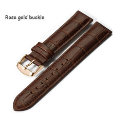 Watchband 18mm 19mm 20mm 21mm 22mm 24mm Soft Calf Genuine Leather Watch Strap Alligator Grain for Tissot Seiko