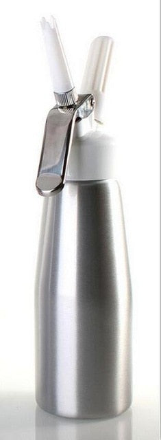 Supreme Quality Cream Whipper with Decorating Nozzles, 500ML Artisan Whipped Cream Dispenser