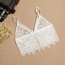 Translucent Underwear Sheer Lace Women Hollow Strap Lingerie Bra Tops Sexy - sellhotproducts