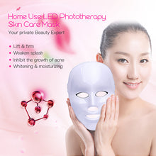 Photon Electric LED Facial Mask Skin Rejuvenation Anti Acne Wrinkle Therapy Beauty NEW Red Blue Laser - sellhotproducts