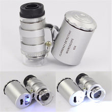 Magnifier With LED Light New 60x Handheld Mini Pocket Microscope Loupe Jeweler - sellhotproducts
