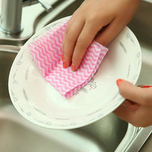 Non-woven Kitchen Cleaning Cloth Disposable Eco-friendly Rags Wiping Scouring Pad Bathroom Washing Cloth 50pcs/Roll