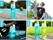 Spray Water Straw Cups Plastic Sports  For Outdoor Bicycle Cycling Sports Gym Drinking Bottles - sellhotproducts