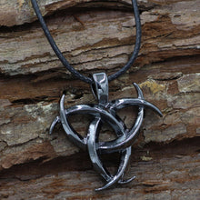 Triple Horn OF Odin King of Asgard Norse Silver God Pewter Pendant World Necklace - sellhotproducts