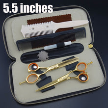 Smith Professional Hairdressing Scissors set Straight & Thinning cutting with comb
