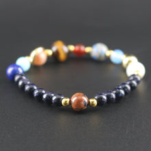 Jewelry Beaded Natural Stone Planet Bracelet Universe Charm Personalized Bracelet - sellhotproducts
