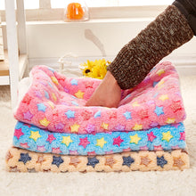 Pet Cushion Bed Dog Cat Rest Blanket Breathable Pet Dog Cat Soft Warm Sleep Mat Size S/M - sellhotproducts