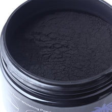 New 60g Tooth Whitening Powder Natural Activated Coconut Bamboo Charcoal Powder Scaling Tartar Stain Removal