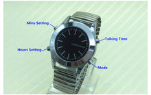 Watch for Blind People or Visually Impaired with Alarm Quartz Watch English Talking