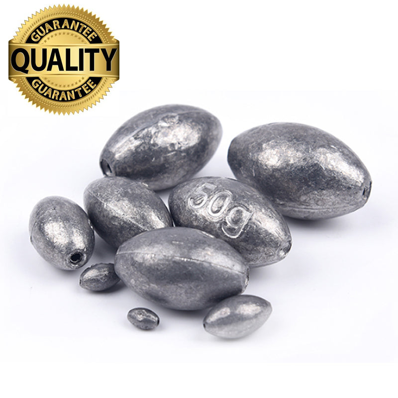 Lead Sinker/Weight Fishing Tackle Accessories olive in Line Fishing Sinkers 1g 1.5g 2g 3g 4g 5g 6g 10g - sellhotproducts