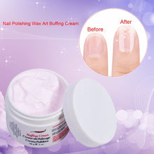Wax Art Buffing Cream for Nails Necessary Nail Care Tools Manicure Luster, Professional Nail Polishing Nail Art Set