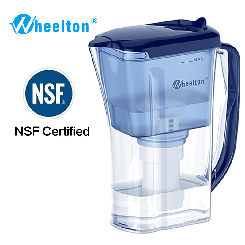 Water Filter Pitcher 4.5 Cup Reduce lime-scale BPA free purifier certified Good Figment By NSF - sellhotproducts