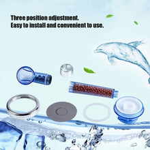 SPA Shower Head Healthy Negative Ion SPA Filtered Three Shower Mode Negative Lon - sellhotproducts