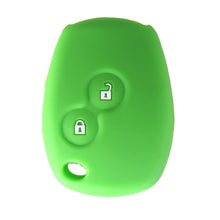 Silicone Car Key Case Cover 2 Buttons For Renault Kangoo Scenic Megane Sandero Captur Twingo Modus