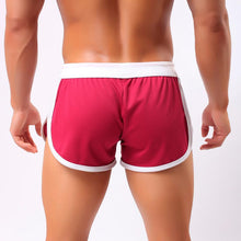 Summer Men`s Quick Dry Comfy Drawstring Breathable Beach Home Shorts Trunks With Side Pouch For Male - sellhotproducts