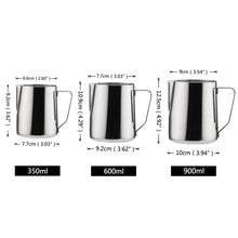 Stainless Steel - Frothing - Pitcher Pull Flower - Cup Espresso Cappuccino - Pitcher Jug - Milk Tools