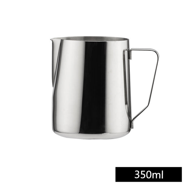 Stainless Steel Frothing Pitcher Pull Flower Cup Espresso Cappuccino Art Pitcher Jug Milk Tools
