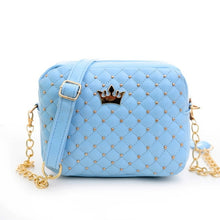 Women's Handbags Fashion Women Bag PU Leather Messenger Bags Rivet Chain Brands Shoulder Bag Cross Body