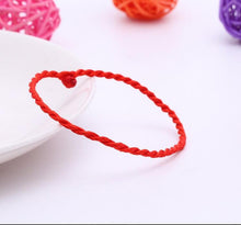 Simple Style Classic Lucky Chinese Braided Red String Rope Cord Bracelet Gift Fashion Women Men Bracelet Jewelry - sellhotproducts