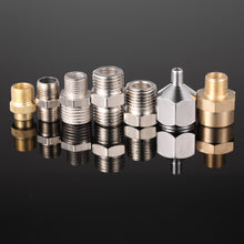 Professional 7pcs Airbrush Adaptor Kit Fitting Connector Set For Compressor & Airbrush Hose