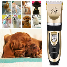 Professional Pet Grooming Clippers Kit Rechargeable Cordless Dog Trimmer Machine Animal Hair Clipper For Dog Cat
