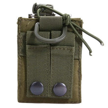 Package Pouch Tactical Sports Military Molle Nylon Radio Walkie Talkie Holder Bag Mag Pouch Pocket