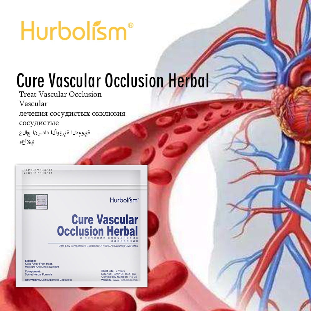 Natural Herbal to Cure Vascular Occlusion, Hyperlipemia, Varicose Veins, Cure Thrombophilia, Clear Blood Vessel Blockage