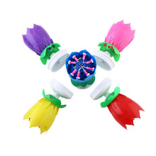 Romantic Musical Lotus Rotating Happy Birthday Party Gift Candle Lights 5Color high quality - sellhotproducts