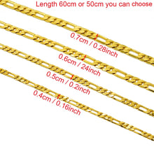 ONE PIECE, Gold Chain Necklaces for Women/Men,Gold Color Africa Jewelry, Arab Ethiopian Chains