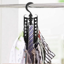 Magic Multi-Functional Dual Hanger Folding Clothes Hanger Clothing Drying Rack