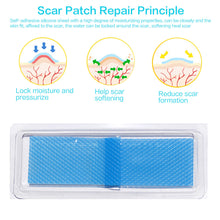 Silicone Gel Scar Repair Sheeting Caesarean Section Surgery Removal Scar Sheet Therapy Patch For Keloid Burn Skin
