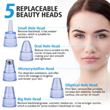 Pore Cleaner Blackhead Remover Vacuum Electric Nose Face Deep Cleansing Skin Care Machine  Beauty Tool
