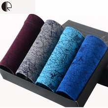 New Men Underwear Gift Box 4pca/lot Soft Breathable Modal Boxer Brand Designer Print Male Mens Underwear Boxers AU322 Wholesale - sellhotproducts