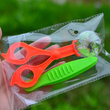 New Children School Plant Insect Biology Study Tool Set Plastic Scissor Clamp Nature Exploration Toy