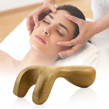 Traditional Massage Foot Neck Head Fragrant Wood Reflexology Acupuncture Body Massager Tool