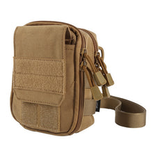 Tactical Military Hunting Small Utility Pouch Pack Army Molle Cover Scheme Field Sundries Outdoor Sports Bags