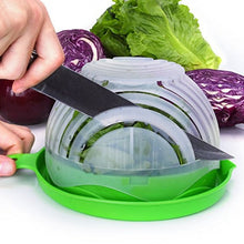 Salad Cutter Bowl Vegetable Fruits Slicer Chopper Washer And Cutter Quick Salad Maker Kitchen Gadget tools