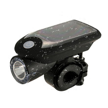 USB Charging Solar Bicycle LED Lights 360 Degrees Revolving Front And Rear Light Q1030*20