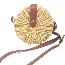 Square Round Mulit Style Straw Bag Handbags Women Summer Rattan Bag Handmade Woven