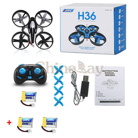 JJRC H36 Mini Drone 6 Axis RC Micro Quadcopters With Headless Mode One Key Return - Merimobiles
