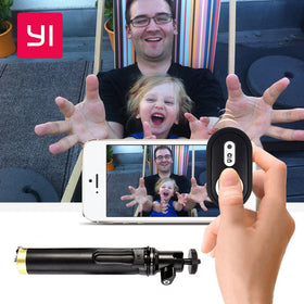 Xiaomi YI Action Camera Bluetooth Monopod/Selfie Stick Extendable with Remote Control - Merimobiles