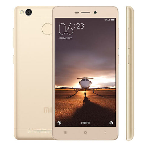 Xiaomi Redmi 3S 5 inch Snapdragon 430 3GB RAM 32GB ROM Fingerprint scanner Global Firmware - Merimobiles
