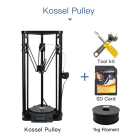 Anycubic 3D Printer Pulley Version Linear Guide DIY Kit Kossel Delta Large Printing Size 3D Metal Printer - GlobalGadgetShop