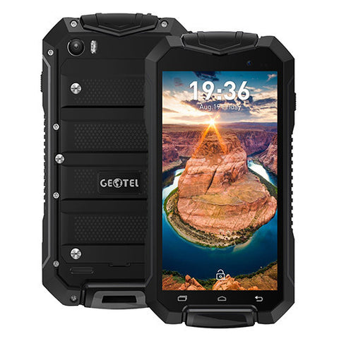 GEOTEL A1 Android 7.0 MTK6580M Quad Core 4.5 Inch 3400mAh 1GB+8GB 8.0MP 960x540 IP67 Waterproof - Merimobiles