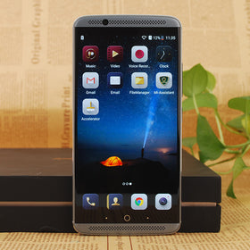 "ZTE Axon 7 Qualcomm MSM8996 Snapdragon 820 20.0MP 5.5"" 4/6GB RAM 64/128GB ROM Fingerprint - Merimobiles"