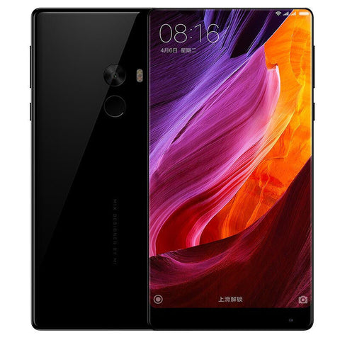 Xiaomi Mi MIX 6.4inch 2040*1080 Screen Android 6.0 4G LTE 64bit Qualcomm Snapdragon 821 4GB 128GB 16.0MP NFC Touch ID Ceramic Body - IN STOCK - Merimobiles