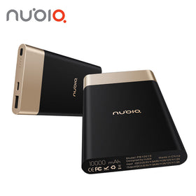 Nubia Universal Power Bank Two-way Quick Charge QC3.0 10000mAh USB Type C 5V/3A 9V/2A - Merimobiles