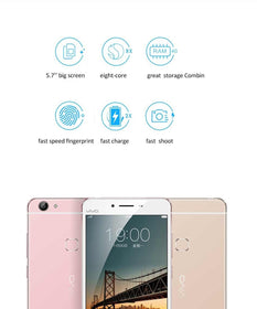 VIVO X6S Snapdragon MSM8976 Octa Core 1.8GHz 1920*1080 4GB RAM 64GB ROM 5.2 inch 13.0MP Fingerprint - Merimobiles