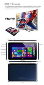 Cube i7 Core M 11.6 inch 4GB/64GB Windows 8.1 Dual Core 5.0MP 3G Tablet - Merimobiles